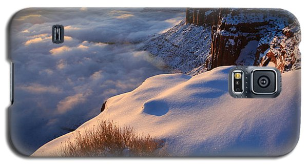 Sunrise Inversion At Buck Canyon Overlook Galaxy S5 Case