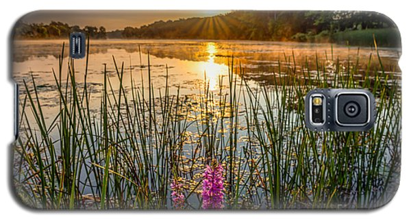 Sunrise Kent Lake Galaxy S5 Case