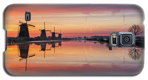Sunrise Kinderdijk Galaxy S5 Case
