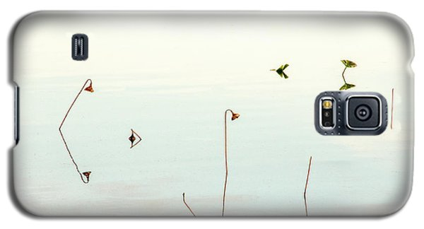 Galaxy S5 Case featuring the photograph Sunrise Minalism by Carolyn Dalessandro