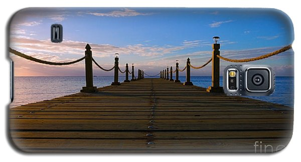 Sunrise Morning Bliss Pier 140a Galaxy S5 Case