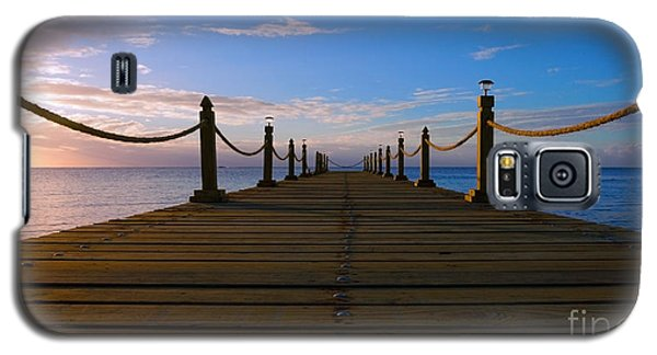 Sunrise Morning Bliss Pier 140a Galaxy S5 Case