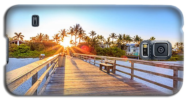 Sunrise Naples Pier Florida Galaxy S5 Case