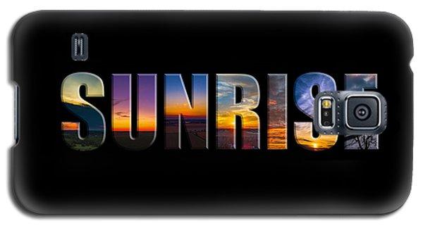 Sunrise Galaxy S5 Case