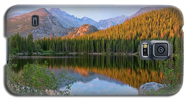Galaxy S5 Case featuring the photograph Sunrise On Bear Lake Rocky Mtns by Teri Atkins Brown