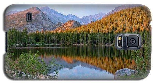 Sunrise On Bear Lake Rocky Mtns Galaxy S5 Case