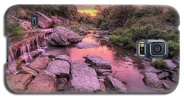 Galaxy S5 Case featuring the photograph Sunrise On Deep Creek by JC Findley