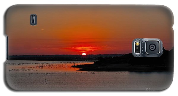 Sunrise On Lake Ray Hubbard Galaxy S5 Case by Diana Mary Sharpton