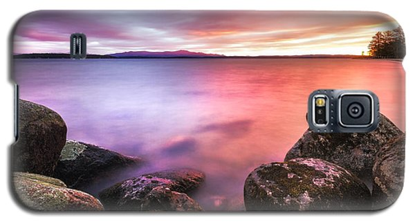 Sunrise On Lake Winnipesaukee Galaxy S5 Case