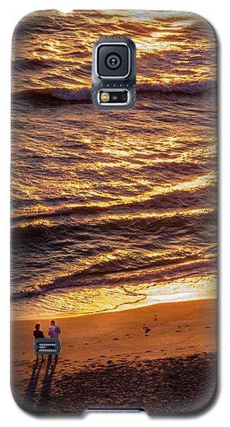 Sunrise On Melbourne Beach Galaxy S5 Case