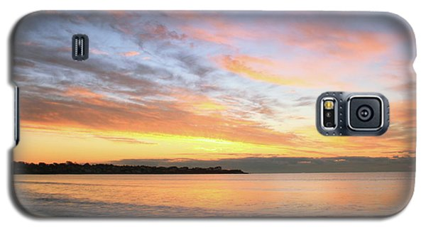 Galaxy S5 Case featuring the photograph Sunrise On Middletown Rhode Island by Roupen  Baker