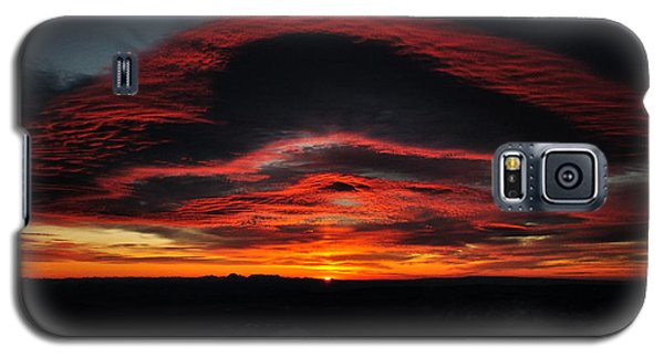 Sunrise On Rainier Galaxy S5 Case