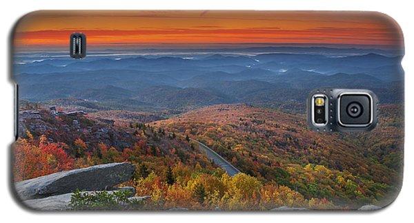 Sunrise On Rough Ridge  Galaxy S5 Case