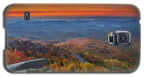 Sunrise On Rough Ridge  Galaxy S5 Case