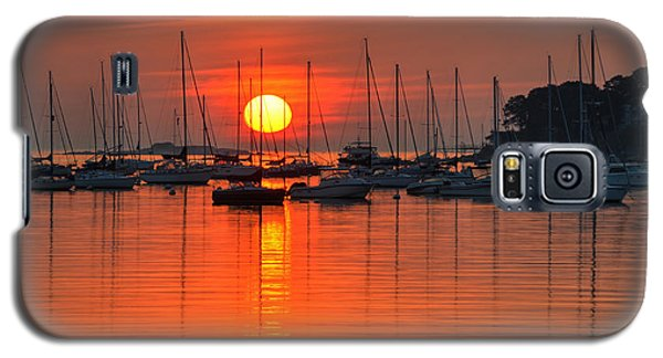 Sunrise On Salem Harbor Salem Ma Galaxy S5 Case