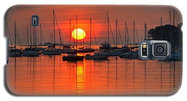 Sunrise On Salem Harbor Salem Ma Galaxy S5 Case