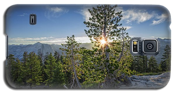 Sunrise On Sentinel Dome Galaxy S5 Case