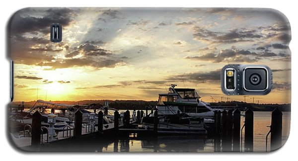Sunrise On The Alexandria Waterfront Galaxy S5 Case