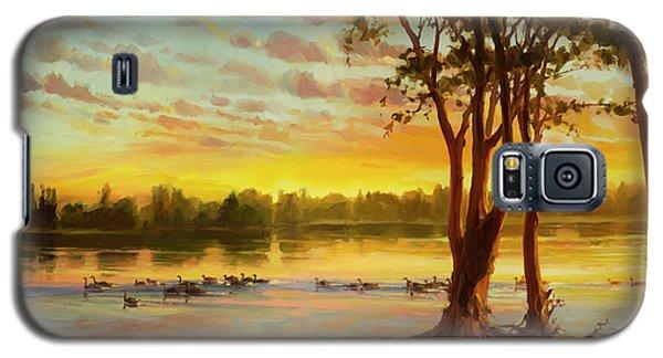 Sunrise On The Columbia Galaxy S5 Case