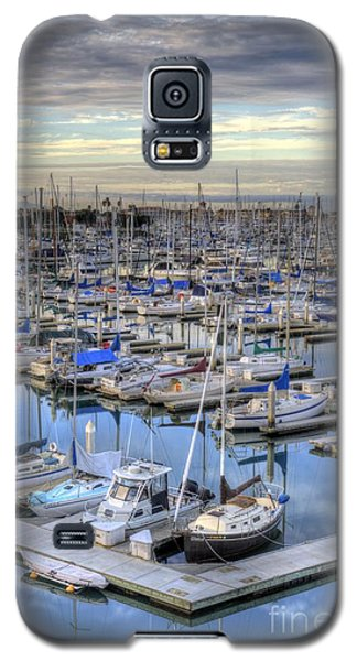 Sunrise On The Harbor Galaxy S5 Case