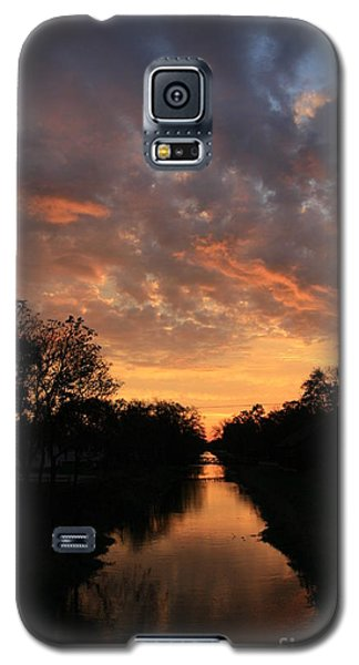 Sunrise On The Illinois Michigan Canal Galaxy S5 Case