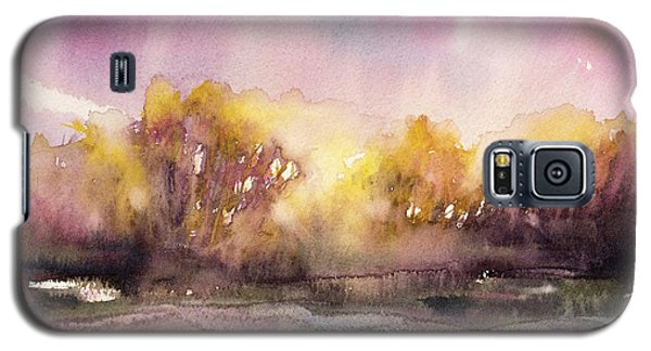 Sunrise On The Lane Galaxy S5 Case by Judith Levins