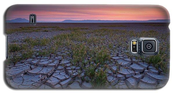 Sunrise On The Playa Galaxy S5 Case