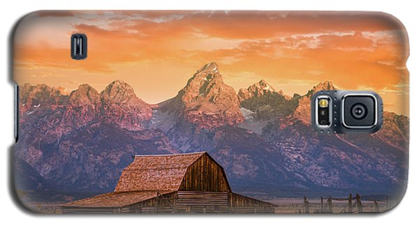 Sunrise On The Ranch Galaxy S5 Case