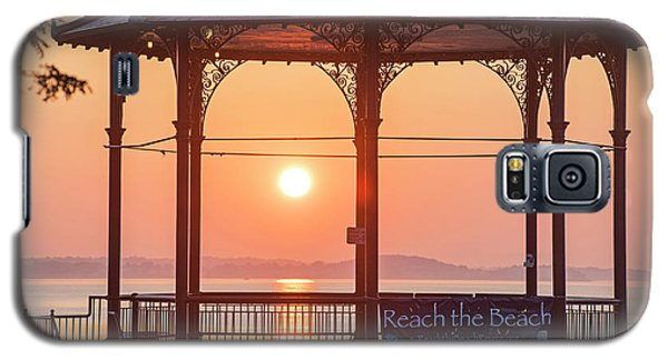 Sunrise On The Revere Beach Bandstand Revere Ma Galaxy S5 Case