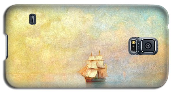 Sunrise On The Sea Galaxy S5 Case