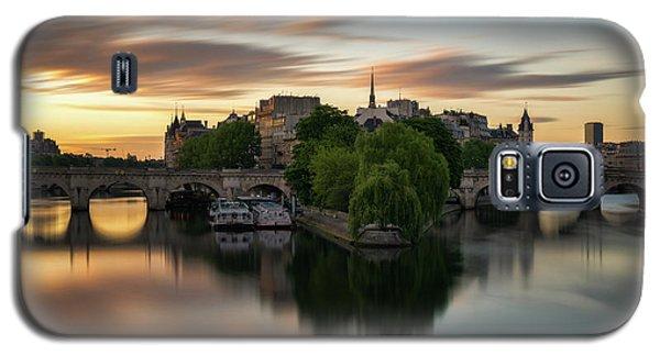 Sunrise On The Seine Galaxy S5 Case