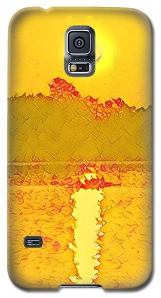 Sunrise On Town Lake Galaxy S5 Case