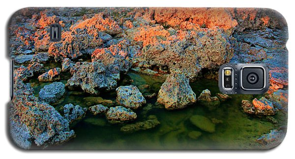 Sunrise On Tufa 2 Galaxy S5 Case