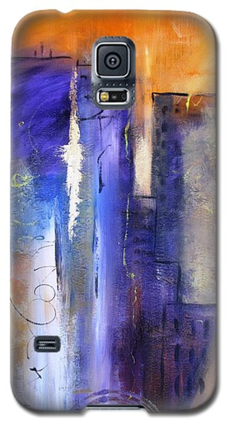 Sunrise On Twin Towers Galaxy S5 Case by Gary Smith