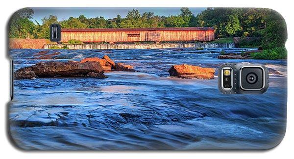 Sunrise On Watson Mill Bridge Galaxy S5 Case