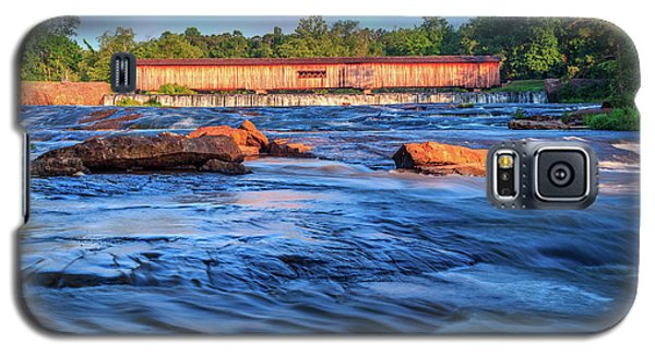 Sunrise On Watson Mill Bridge Galaxy S5 Case