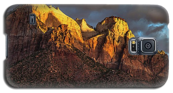 Sunrise On Zion National Park Galaxy S5 Case