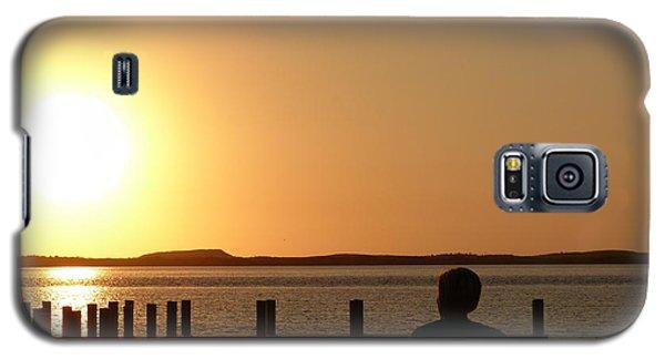 Sunrise Over Assateaque Galaxy S5 Case by Donald C Morgan