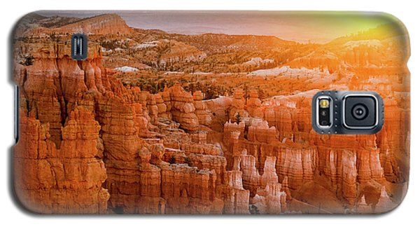 Sunrise Over Bryce Canyon Galaxy S5 Case