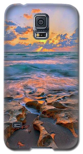 Sunrise Over Carlin Park In Jupiter Florida Galaxy S5 Case by Justin Kelefas