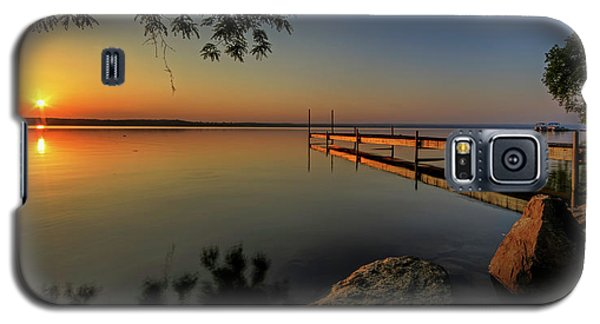 Sunrise Over Cayuga Lake Galaxy S5 Case by Everet Regal