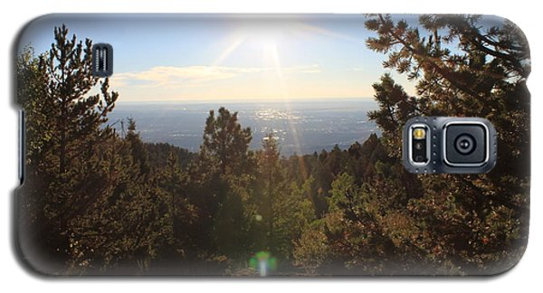 Galaxy S5 Case featuring the photograph Sunrise Over Colorado Springs by Christin Brodie