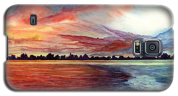 Sunrise Over Indian Lake Galaxy S5 Case