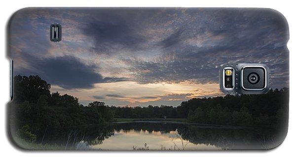 Sunrise Over Indigo Lake Galaxy S5 Case