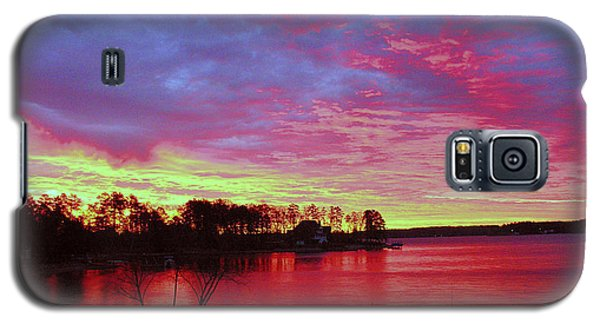 Sunrise Over Lake Murray Galaxy S5 Case
