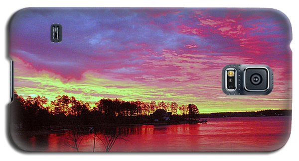 Sunrise Over Lake Murray Galaxy S5 Case
