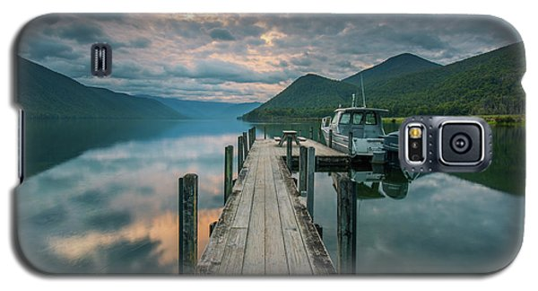 Sunrise Over Lake Rotoroa Galaxy S5 Case