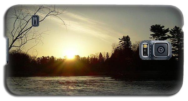 Sunrise Over Mississippi River Galaxy S5 Case by Kent Lorentzen