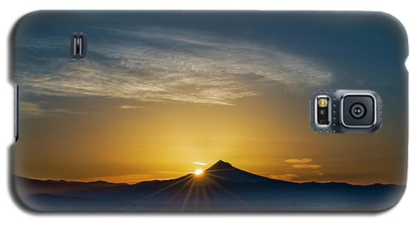 Sunrise Over Mt. Hood Galaxy S5 Case