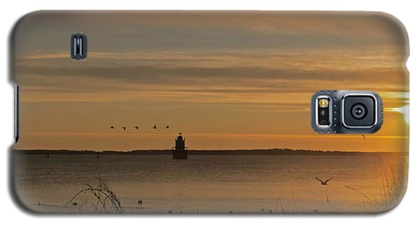 Sunrise Over New Bedford Galaxy S5 Case